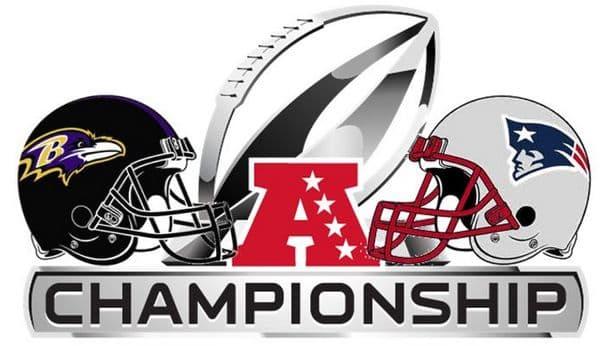 AFC Championship Patriots vs Ravens