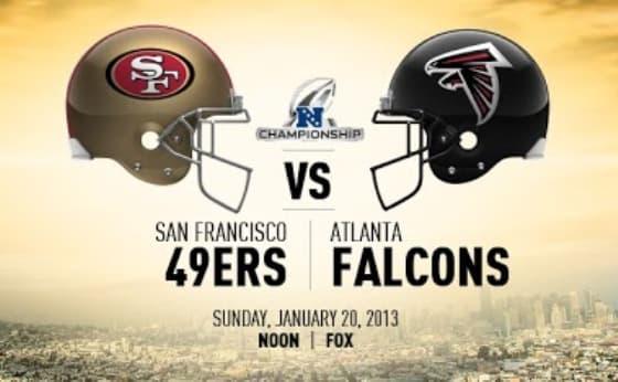 NFC 49ers Falcons