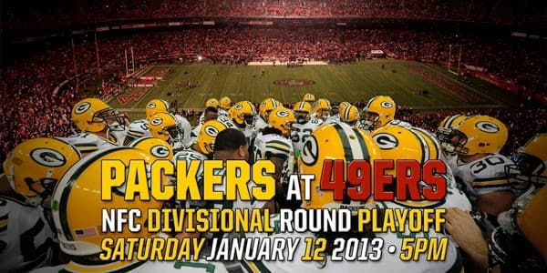 packers vs 49ers nfc playoffs