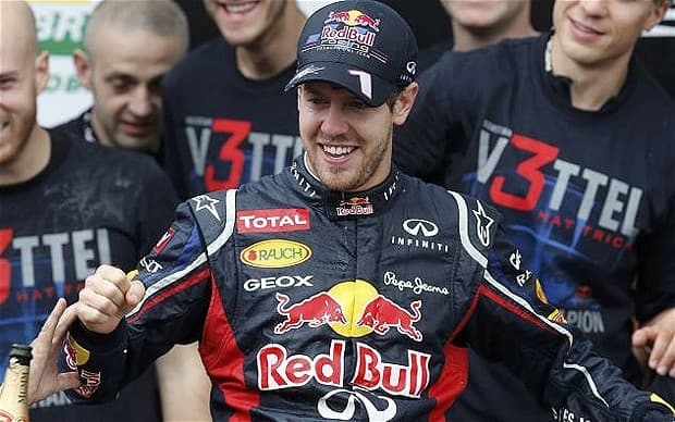 Sebastian Vettel and Red Bull