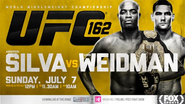 UFC 162 - anderson silva vs chris weidman