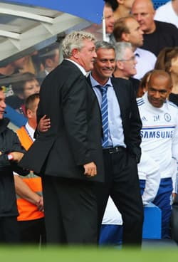 Steve Bruce Lots of love for Jose Mourinho