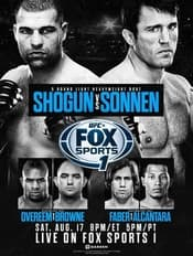 ufc on fox sports 1 poster