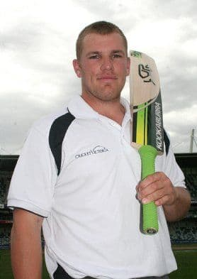 Geelong Cricketer Aaron Finch