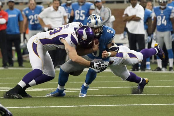 Minnesota Vikings at Detroit Lions NFL 2013 Odds