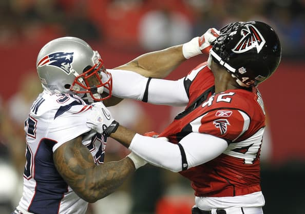 New England Patriots at Atlanta Falcons Sunday Night Footbll