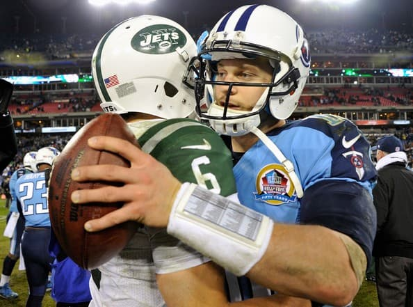New York Jets at Tennessee Titans Faceoff