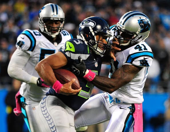 Seattle Seahawks at Carolina Panthers 2013