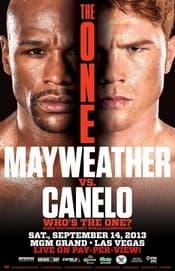 floyd mayweather canelo poster