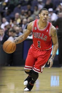 Derek Rose Chicago Bulls