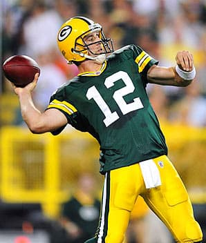 Aaron Rodgers Green Bay