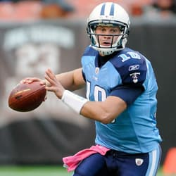 Jake Locker Injured For The Titans