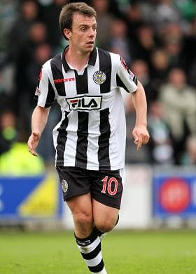 Paul McGowan To Score Agian This Week For St Mirren