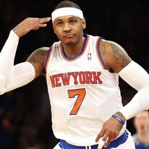 Carmelo Anthony Only One Playing Well