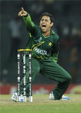 Saeed Ajmal - Pakistan Vs Sri Lanka betting
