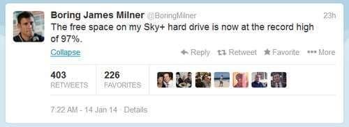 boring milner tweet