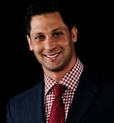 Adam Meyer as he appears on his RealMoneySports.com website