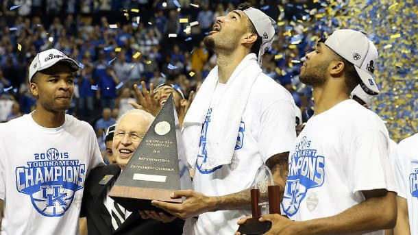 Kentucky Basketball Uk Has Second Best Odds To Win: 2015 March Madness Odds: Can Anyone Beat Kentucky?