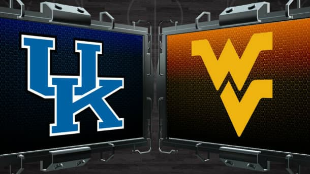 West-Virginia-Mountaineers-vs-Kentucky-Wildcats-Sweet-Sixteen