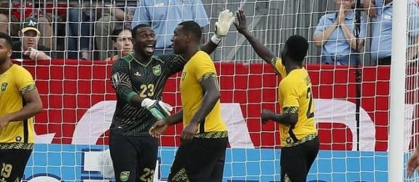 Soccer: Gold Cup-Jamaica at El Salvador