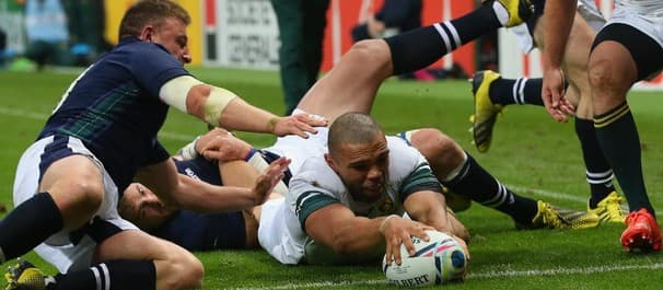 South Africa ran out 34-16 winners against Scotland