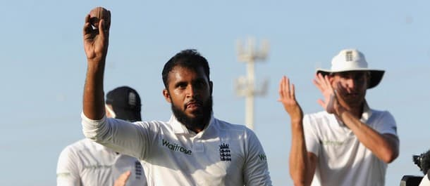 Adil Rashid took five wickets in the 1st Test against Pakistan.