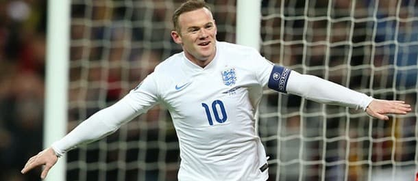Wayne Rooney could be the man to score for England against France.