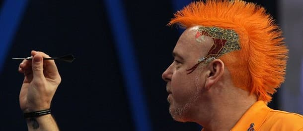 Peter Wright reached the final of the recent World Series of Darts.