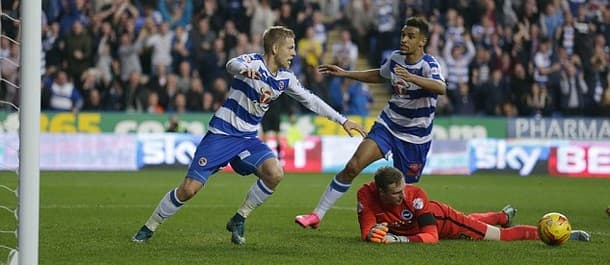 Matej Vydra scored his first goal for Reading in the 1-1 draw with Brighton.