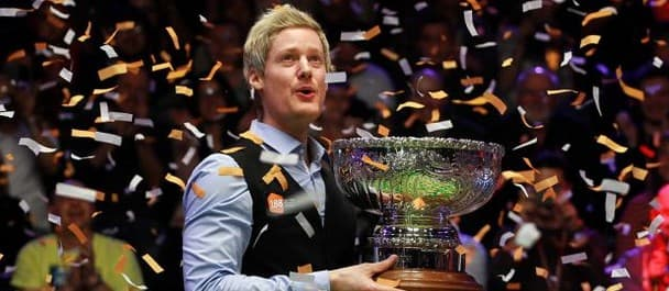 Neil Robertson won the Champion of Champions tournament earlier this month.