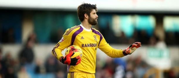 Middlesbrough goalkeeper Konstantopoulos has kept seven clean sheets in a row at the Riverside.
