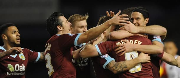Burnley got back to winning ways at home to Charlton last weekend.