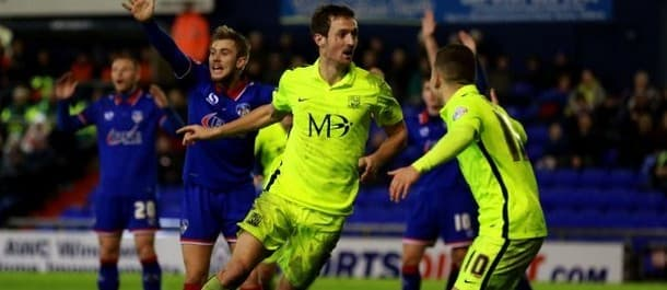 Southend's 5-2 win at Oldham featured five different scorers.