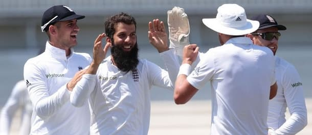 Moeen Ali took man of the match as England won the first test in South Africa.
