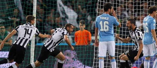 Juventus beat Lazio 2-1 after extra time in last season's Coppa Italia final.