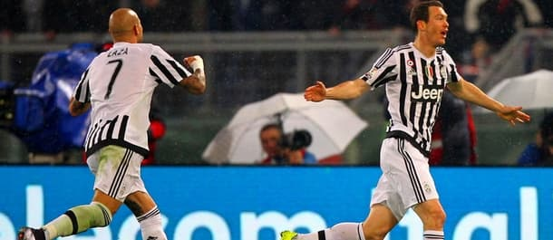 Juventus beat Lazio 1-0 in the Coppa Italia Quarter Final.