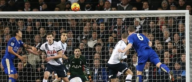 Robert Huth's bullet header secured a vital three points for Leicester at Spurs.