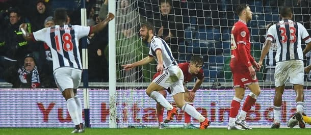 James Morrison saved West Brom's blushes in the 2-2 draw with Bristol City.