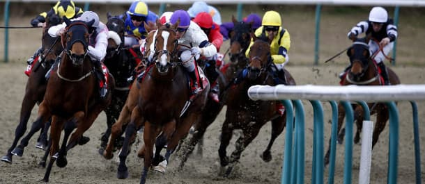 Racing comes from the all-weather track at Lingfield on Friday.