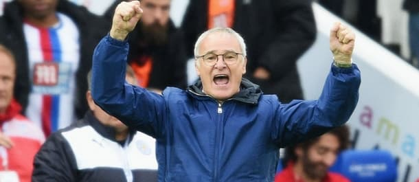 Ranieri happy