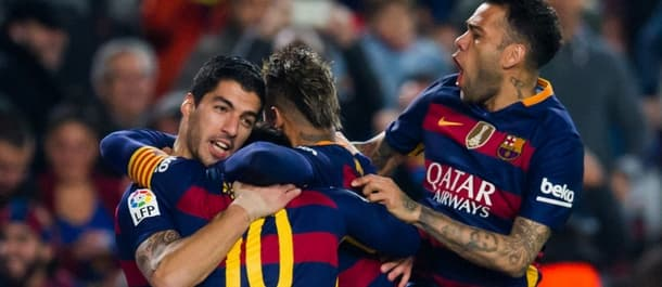 Barcalona beat Athletic Bilbao 5-2 on aggregate in the last round.