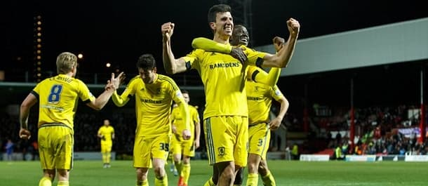 Middlesbrough's last win was at Brentford on the 12th of January.