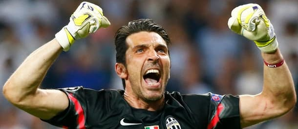 Ginaluigi Buffon hasn't conceded for 746 Serie A minutes.