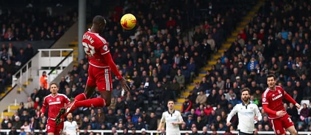 Adomah and Leadbitter kept Middlesbrough in the title hunt at Fulham on Saturday.