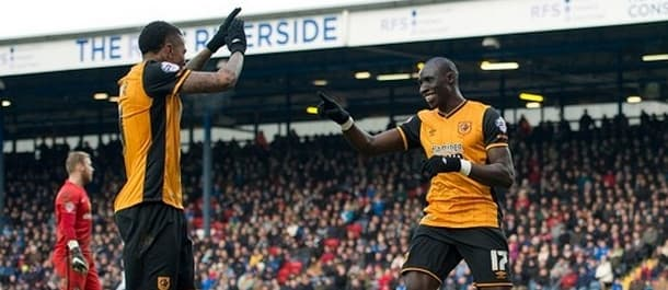 Hernandez and Diame were on target as Hull beat Blackburn 2-0.