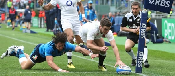 England have won two out of two in the Six Nations so far.
