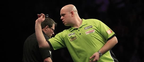 Michael van Gerwen was beaten 7-4 by James Wade in last week's Premier League.