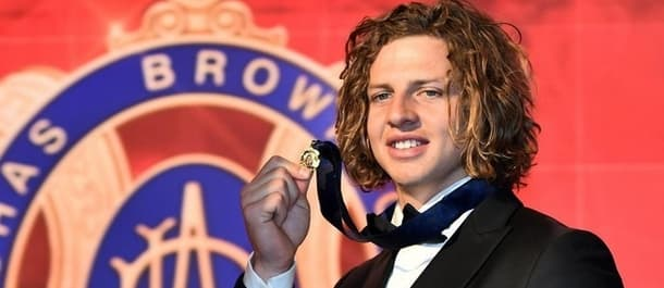 Nat Fyfe wins 2015 Brownlow Medal