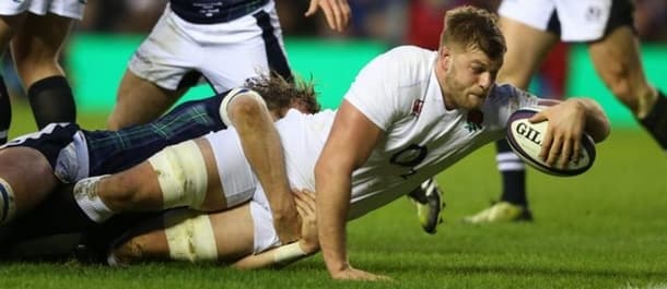 England battled to a hard-fought 15-9 victory over Scotland last week.