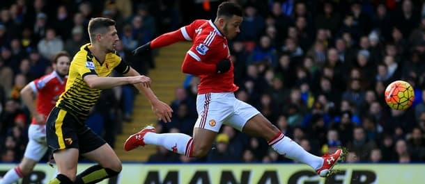 Manchester United beat Watford 2-1 at Vicarage Road earlier in the season.